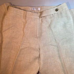 MaxMara line wide leg pants